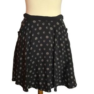 Ecote urban outfitters boho floral swing skirt